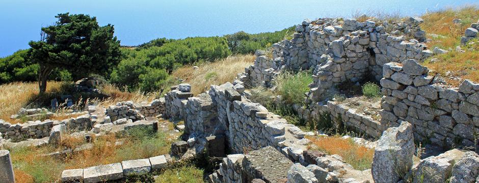 Città antica Thera SAntorini