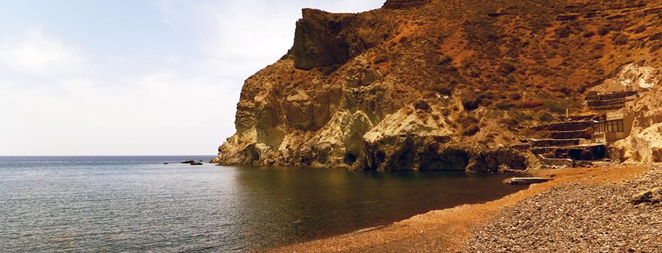 Spiaggia di Kambia Santorini