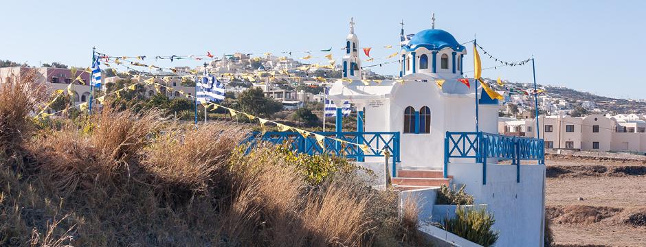 Villaggio di Karterados a Santorini