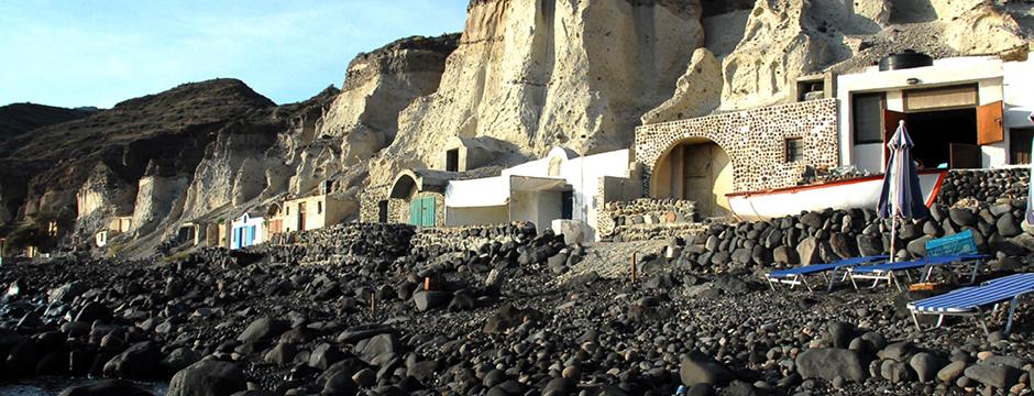Spiaggia di Mesa Pigadia Santorini