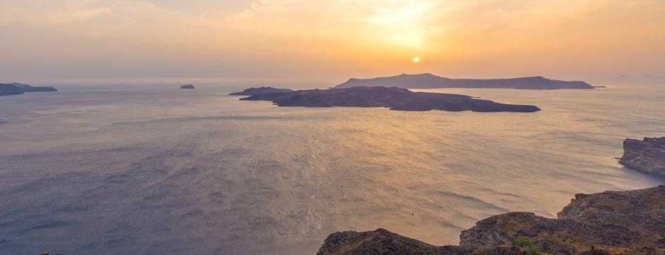 Villaggio di Mesaria a Santorini