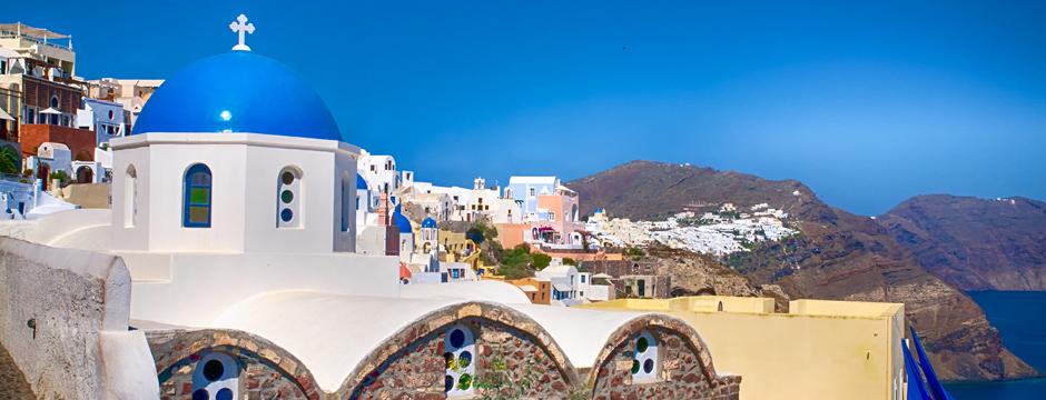 Villaggio di Oia a Santorini