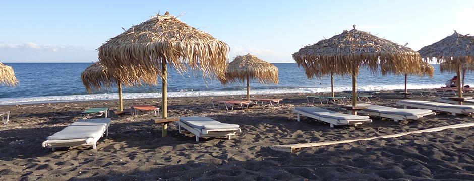 Spiaggia di Perivolos a Santorini