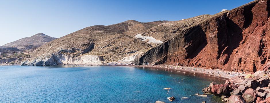 Red Beach spiaggia di Santorini