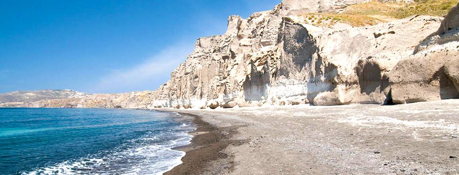 Spiaggia White Beach Santorini